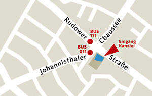 Grafik: Kanzlei Schwonburg Lageplan